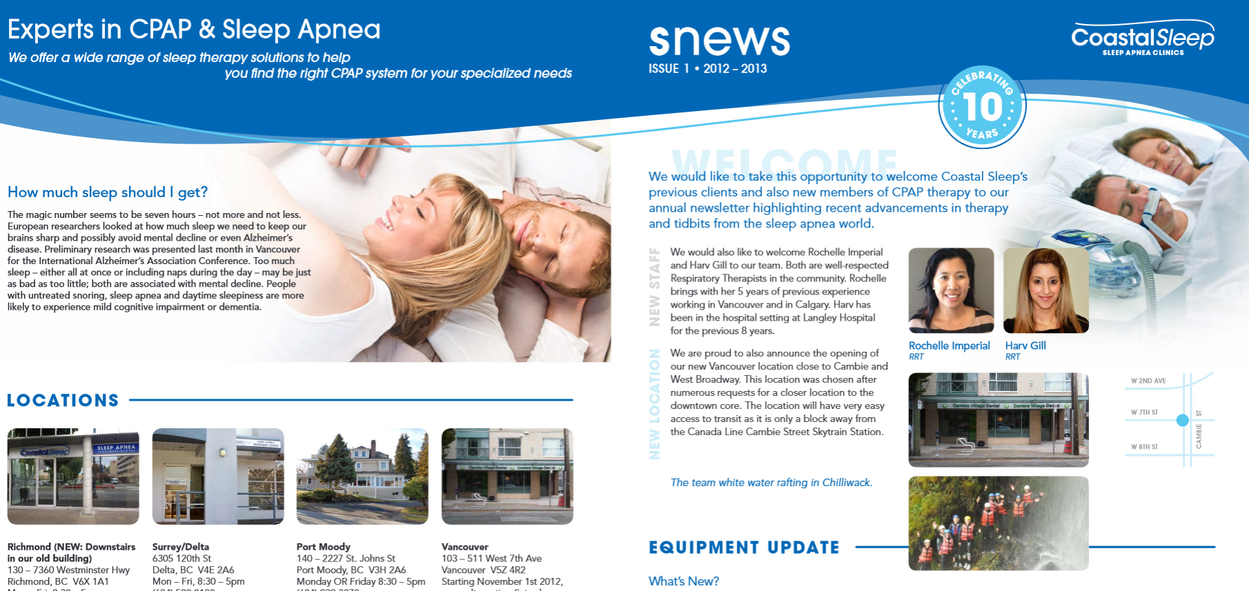 """SNEWS"" 2012-2013 Newsletter"