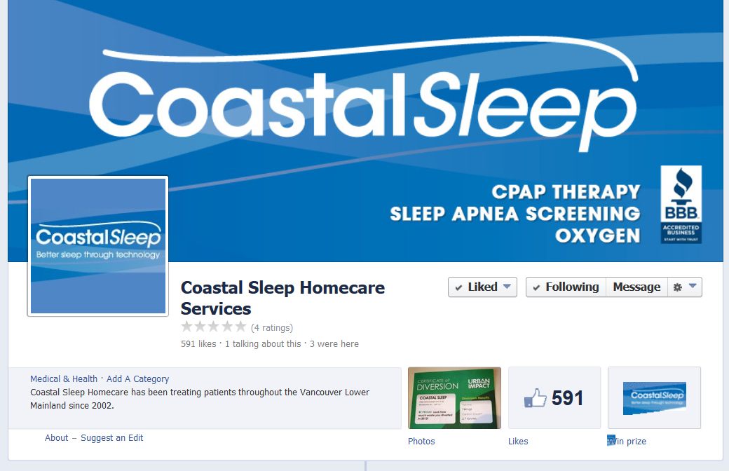 Coastal Sleep is on Facebook
