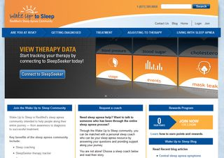 Wake Up to Sleep- New Patient Help Site